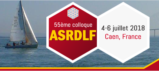 Colloque ASRDLF 2018